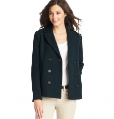 Double breasted jacket at Loft