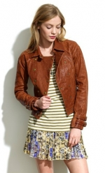 Double breasted moto jacket at Madewell at Madewell