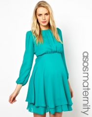 Double layered dress at Asos
