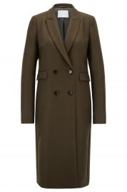 Doublebreasted coat at Hugo Boss
