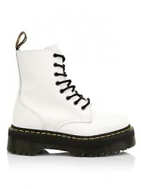 Dr  Martens - Jadon Leather Combat Boots at Saks Fifth Avenue