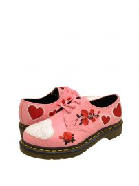 Dr. Martens 1461 Sequin Hearts Women\'s Leather Oxfords at Walmart