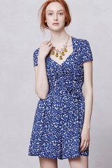 Drafted Petals Romper at Anthropologie