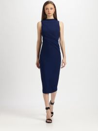 Draped Stretch Jersey Dress at Alexander Wang