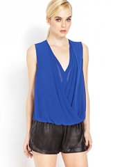 Draped top at Forever 21