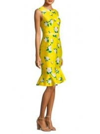 Draper James - Magnolia Ruffle Shift Dress at Saks Fifth Avenue