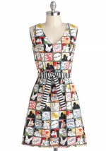 Draw Them In Dress from ModCloth at Modcloth