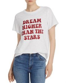 Dream Higher Than The Stars Crewneck Tee by Cinq a Sept at Bloomingdales