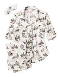 Dreamer Flannel Pajamas in City Girl at Victoria's Secret