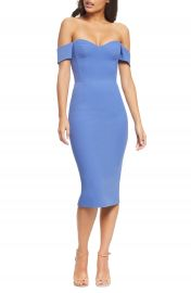 Dress the Population Bailey Off the Shoulder Body-Con Dress   Nordstrom at Nordstrom