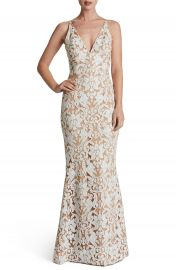 Dress the Population Karen Mermaid Gown at Nordstrom