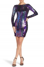 Dress the Population Lola Sequin Body-Con Dress at Nordstrom