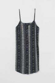 Dress with Buttons at H&M