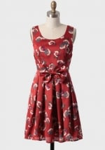 Dress with similar pattern and colors at Ruche