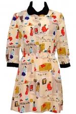 Dress with similar print at Romwe
