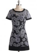 Dress with similar print at Modcloth