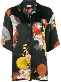 Dries Van Noten Cruz Floral Print Pyjama Top at Farfetch