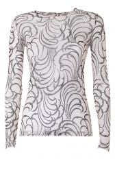 Dries van Noten Hasty Tattoo Top at Mytheresa