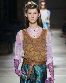 Dries van Noten Spring 2016 Collection at Vogue