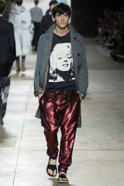 Dries van Noten Spring 2016 Sequin Pants at Vogue
