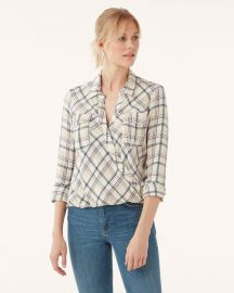 Driftwood Plaid Surplice by Splendid at Splendid