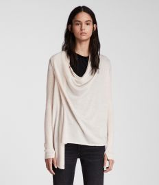 Drina Ribbed Cardigan by All Saints at All Saints