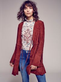 Drop Waist Soft Jacket at Free People
