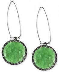 Druzy earrings by Rachel Roy at Macys
