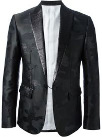 Dsquared2 Camouflage Embroidered Suit - at Farfetch