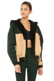 Duality Reversible Faux Shearling Jacket by Alo Yoga  at Alo Yoga