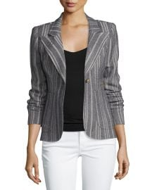Duchess Tweed Single-Button Blazer by Smythe at Neiman Marcus