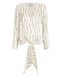 Dulcie Chain Print Blouse at Intermix