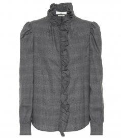 Dules cotton blouse at Mytheresa