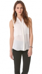 Duria blouse by Theory at Shopbop
