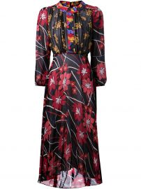 Duro Olowu Floral Print Dress at Farfetch
