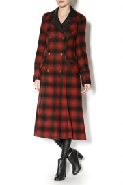Duster Buffalo Plaid by Free People at Shoptiques