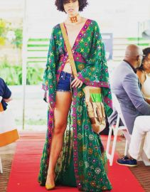Duster Embroidered Kimono by Tanya-Marie Design at Tanya-Marie Collection