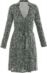 DvF Jeanne Dress in Grass at Matches