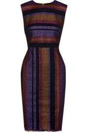 DvF Metallic stripe dress at The Outnet