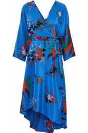 DvF floral wrap dress at The Outnet
