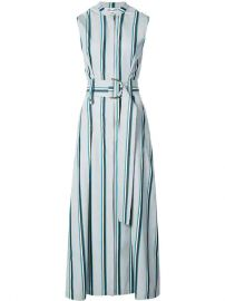 Dvf Diane Von Furstenberg Belted Stripe Dress - Farfetch at Farfetch