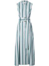 Dvf Diane Von Furstenberg Belted Stripe Dress at Farfetch