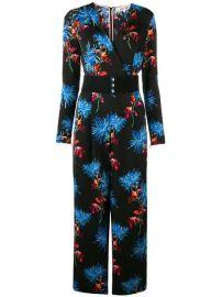 Dvf Diane Von Furstenberg Floral Print Jumpsuit - Farfetch at Farfetch
