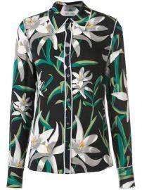 Dvf Diane Von Furstenberg Floral Print Shirt - Farfetch at Farfetch