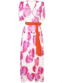Dvf Diane Von Furstenberg Floral Wrap Maxi Dress - Farfetch at Farfetch
