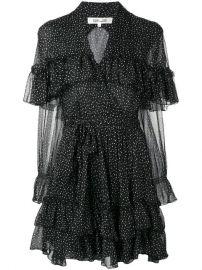 Dvf Diane Von Furstenberg Martina Dots Dress - Farfetch at Farfetch