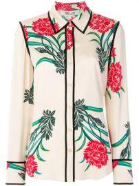 Dvf Diane Von Furstenberg Oriental Print Shirt  - Farfetch at Farfetch