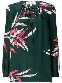 Dvf Diane Von Furstenberg Printed Silk Blouse - Farfetch at Farfetch