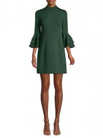 Dylan Tiered Bell Sleeve Shift Dress at Saks Fifth Avenue