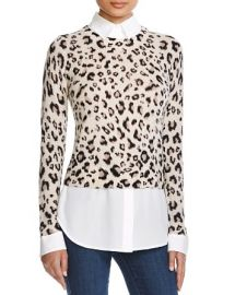 Dylan Gray Leopard Layered Shirt at Bloomingdales